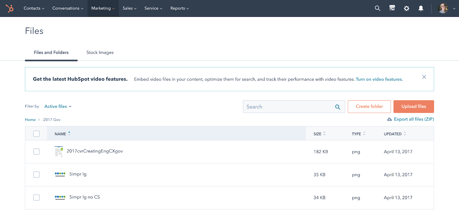 The HubSpot File Manager