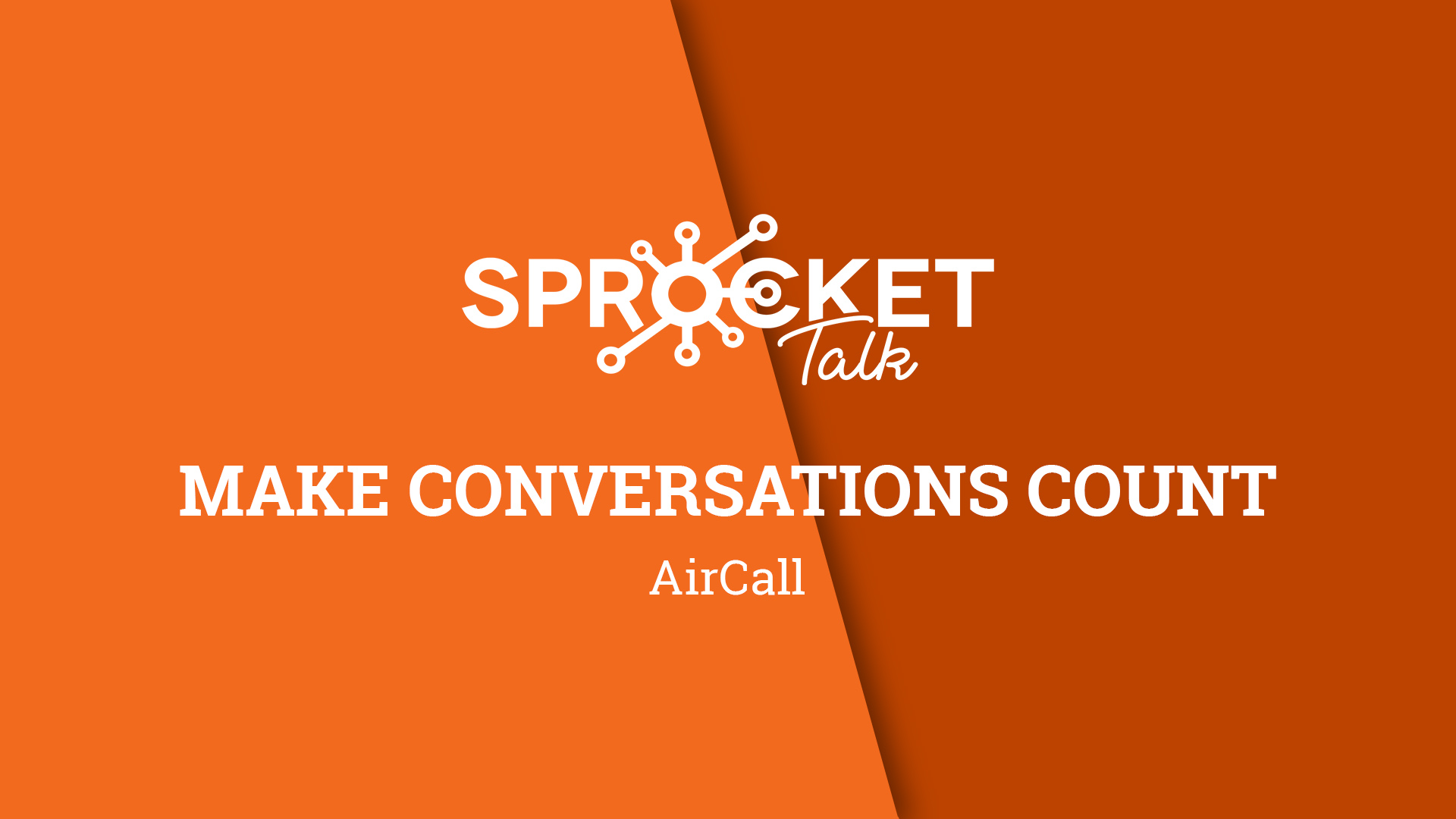 Aircall | Make Conversations Count