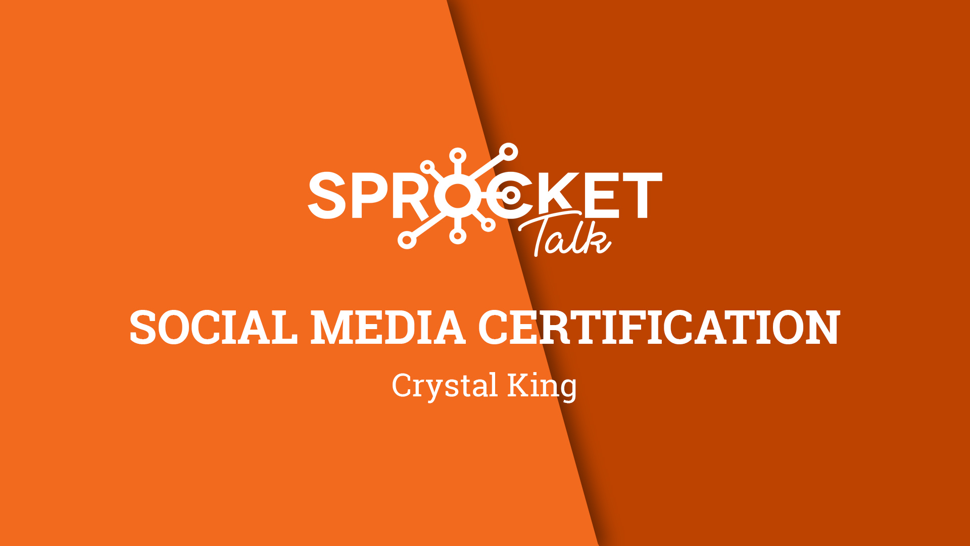 Crystal King Interview | Social Media Certification
