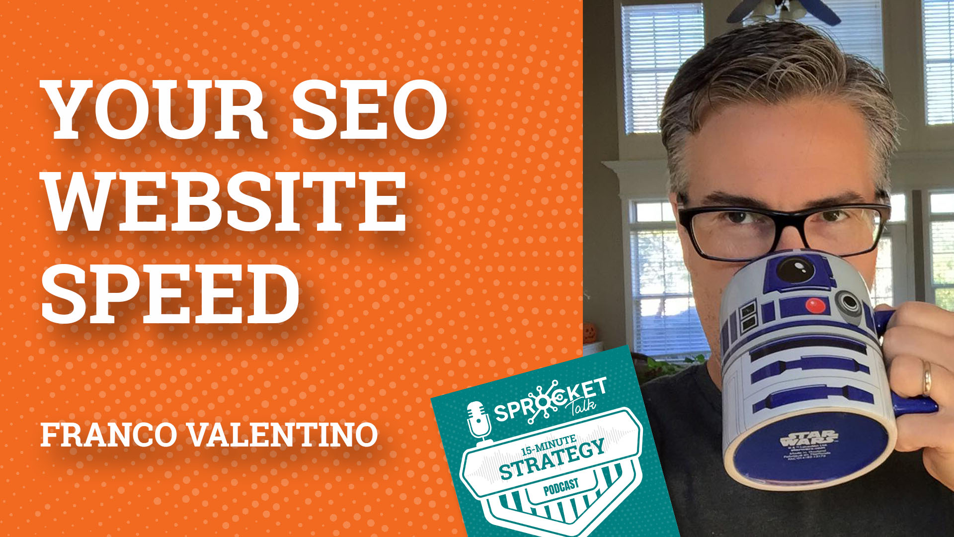 Franco Valentino on Website Speed as an SEO & Business Strategy | 15-Minute Strategy Podcast