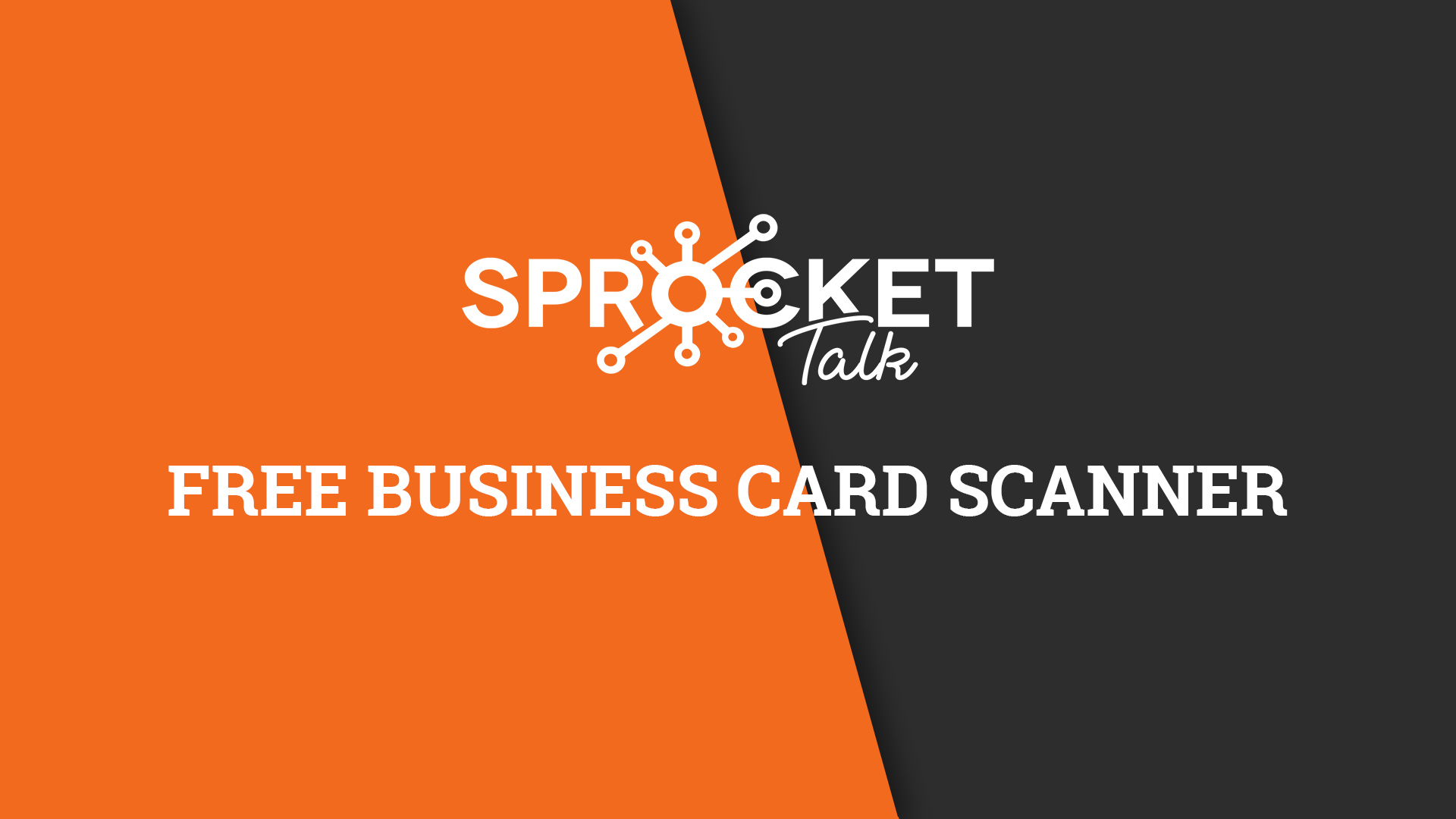Free Business Card Scanner
