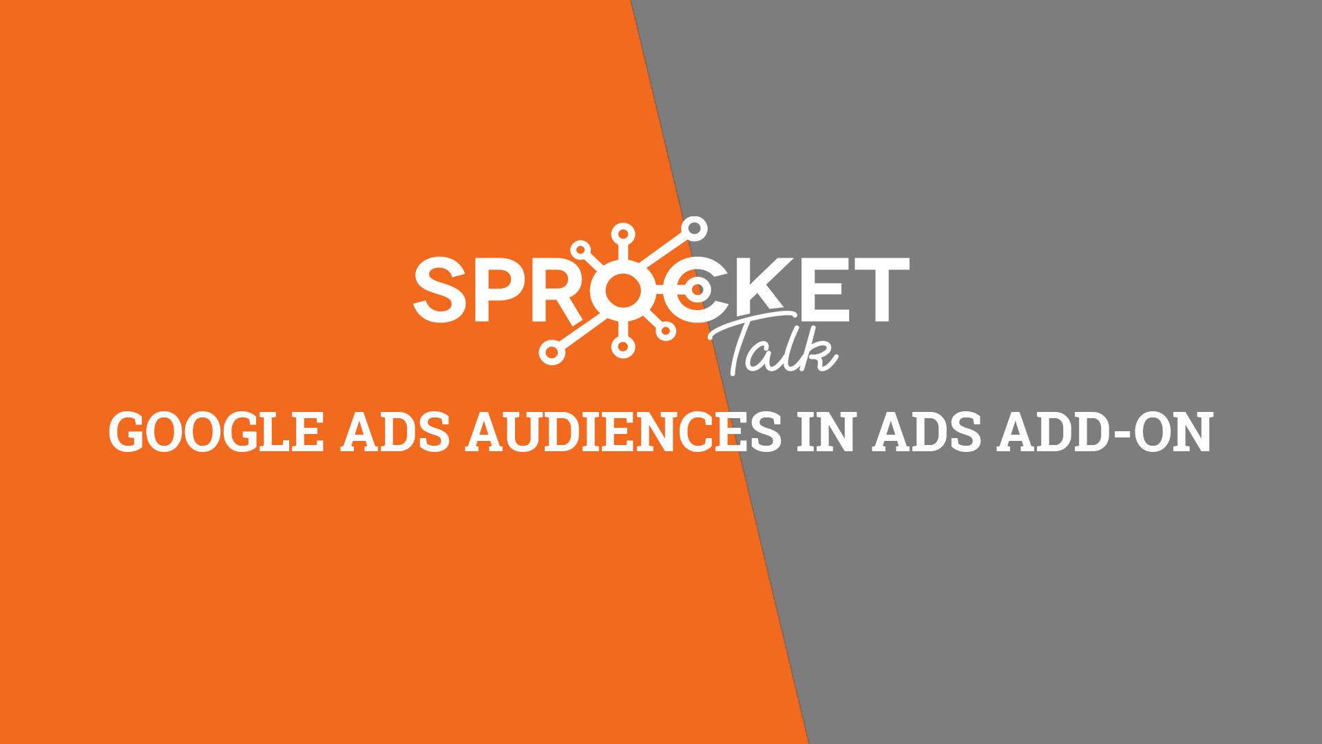 Google Ads Audiences in Ads Add-on
