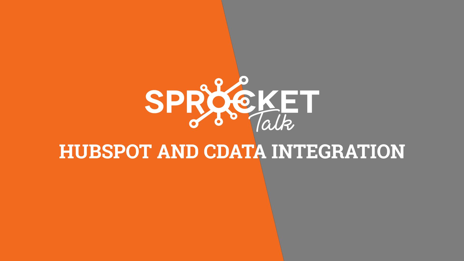 HubSpot and CData Integration