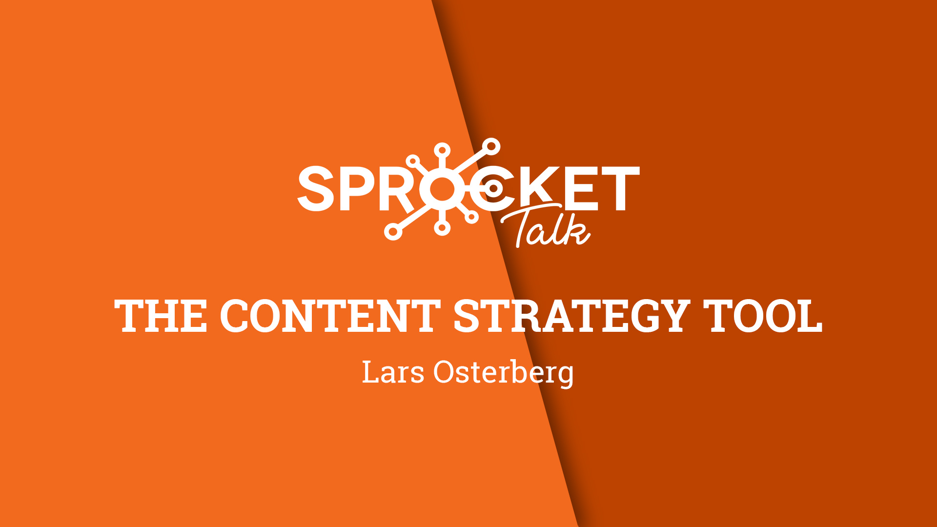 Lars Osterberg | Content Strategy