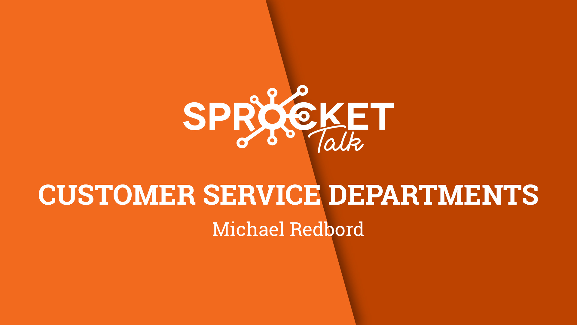 Michael Redboard | Service Departments