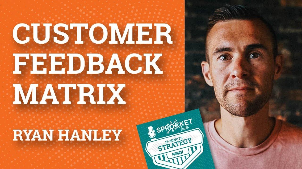 Ryan Hanley on Customer Feedback Strategies | 15-Minute Strategy Podcast