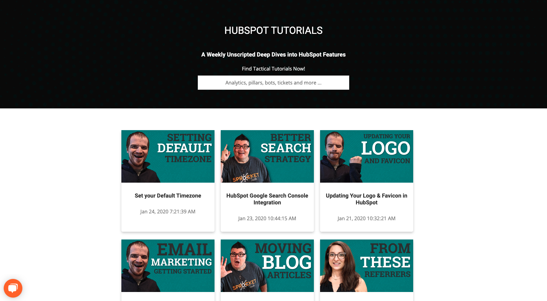HubSpot Tutorials