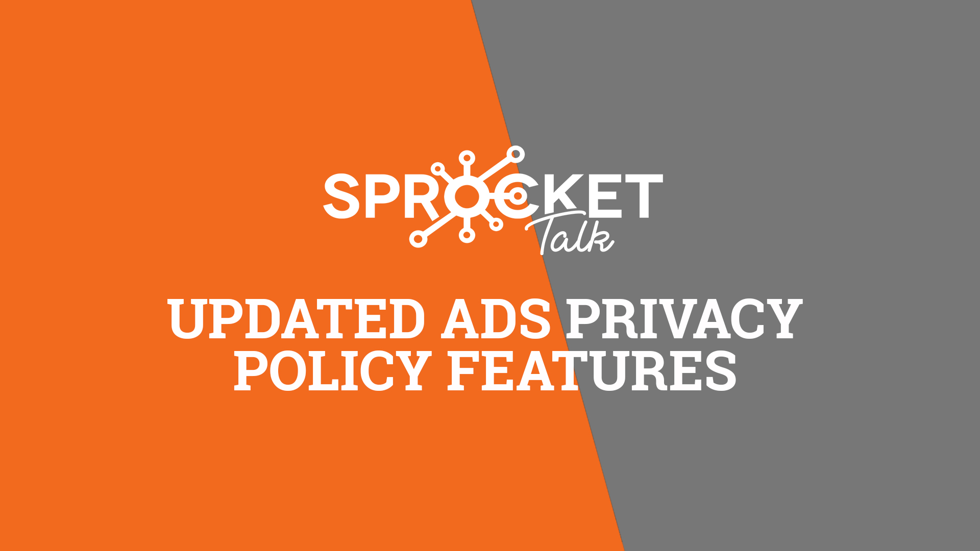 Updated Ads Privacy Policy Features