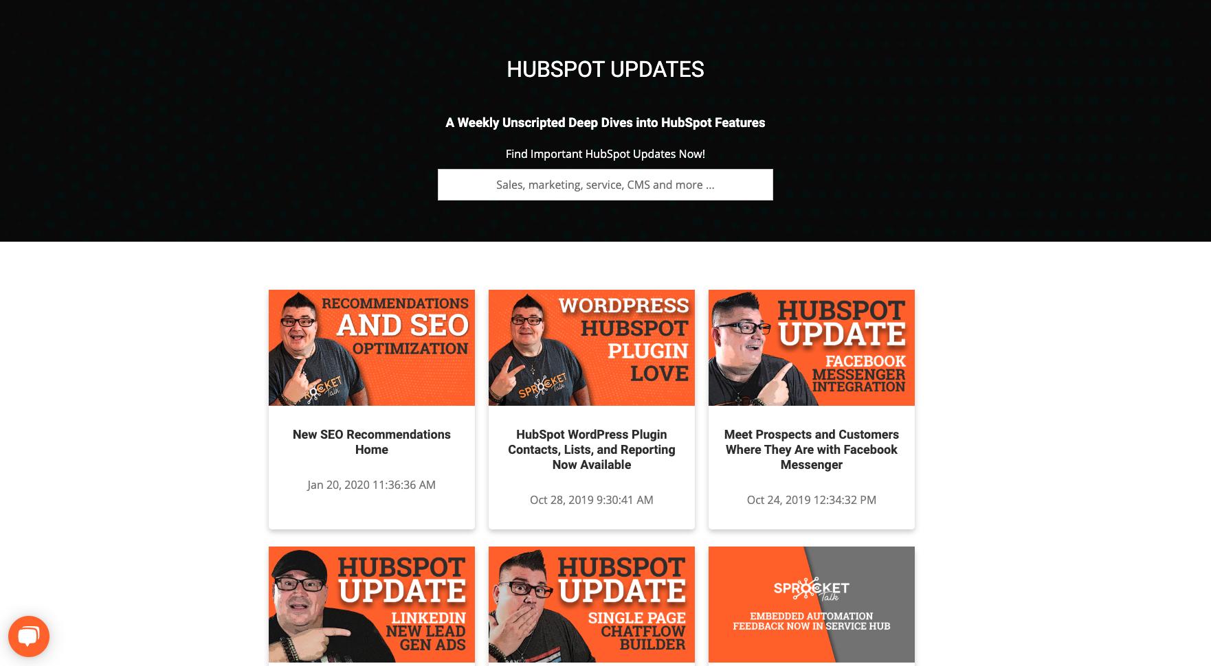 HubSpot Updates